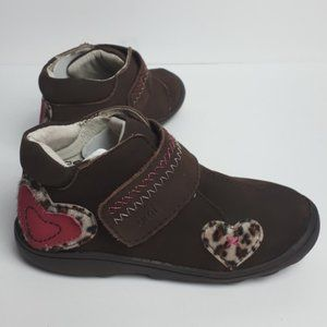 NEW umi Brooke Bootie Brown Leather 8.5
